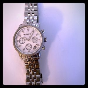 Michael Kors stainless steel bracelet watch